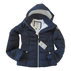 HOLLISTER Cozy Lined Puffer Jacket size: XS